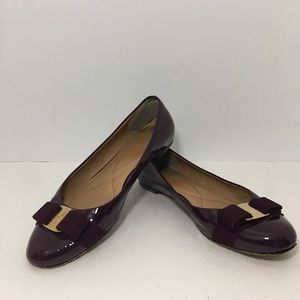 Salvatore Ferragamo Ballet Flats Patent Leather